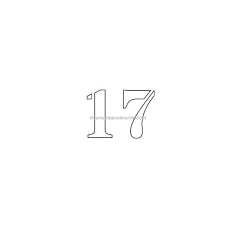 number stencil freenumberstencilscom