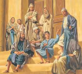 The Boy Jesus Teaching in Temple
