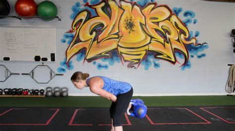 kettlebell double position