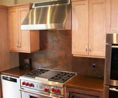 kitchen copper backsplash ideas copper backsplash from the metal peddler handcrafted in usa 6592