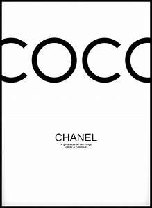 Coco Chanel Bilder : coco chanel black bga fotobutik ~ Cokemachineaccidents.com Haus und Dekorationen