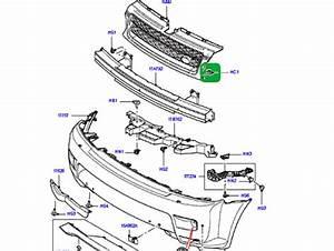genuine land rover clip grille front bumper land rover lr4 With custom land rover discovery