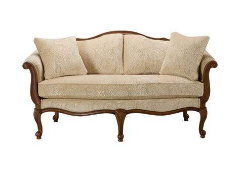 evette settee sofas loveseats ethan allen - Settee Couch Sofa
