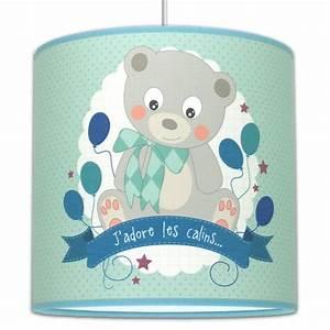 Suspension Chambre Enfant : suspension ourson luminaire chambre b b ~ Melissatoandfro.com Idées de Décoration