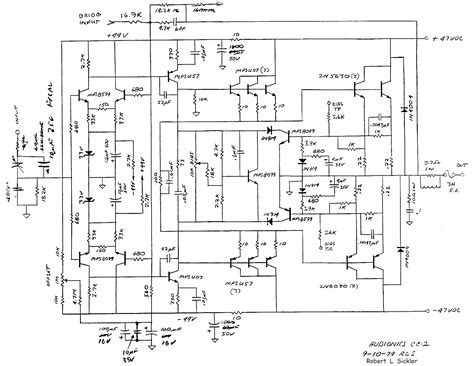 audio amplifier circuit page  audio circuits nextgr
