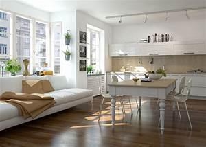 Offene Wohnküche Mit Wohnzimmer : offene l f rmige wohnk che mit gro em essbereich offene wohnk chen wohnk che k che und ~ Watch28wear.com Haus und Dekorationen