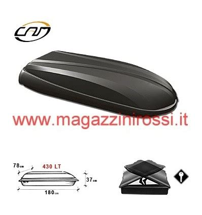 Box Per Auto Da Tetto by Box Da Tetto Camtech 433 Da 430 Litri