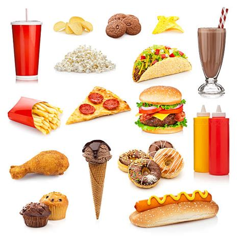 id馥s cuisine junk food or fast food pictures images and stock photos istock