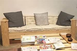 Fabriquer Un Canapé En Palette : comment fabriquer un canap en palette ~ Voncanada.com Idées de Décoration