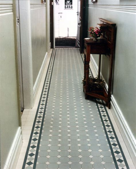 "Victorian/Edwardian""'Norwood"" tile hallway by WInckelmans"