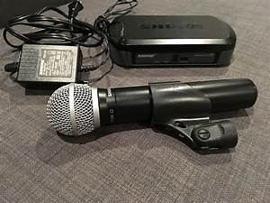 Shure Pg4 Wireless Receiver Pg58 Microphone