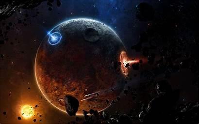 Daemon Planet Planets Wallpapers Space Deviantart Desktop