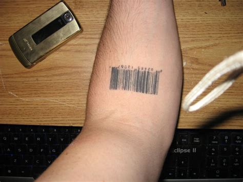 Barcode Tattoo What Does It Mean Tattooart Hd