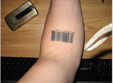 Barcode Tattoo What Does It Mean Tattooart Hd