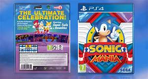 Sonic Mania PlayStation 4 Box Art Cover By LegendChronicles2