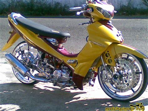 Modif Jupiter Z Kuning by Gambar Foto Modifikasi Motor Yamaha Jupiter Z Terbaru