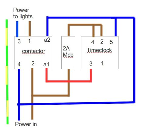 Wiring Contactor With Mcb Rccd Kit
