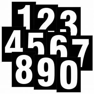 Buchstaben Zum Aufkleben Wetterfest : zahlen wei auf schwarz wetterfest als aufkleber klebezahlen regalbeschriftung 80 mm ~ Orissabook.com Haus und Dekorationen