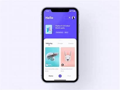 Ux Ui Inspiration Works Dribbble App Mobile