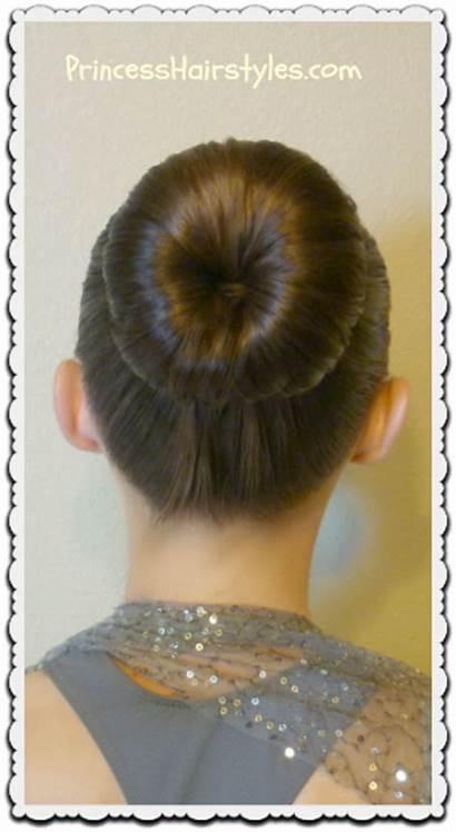 Bun Perfect Dance Curls Heat Tutorial Princess