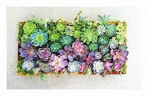 Tableau Végétal Mural : tableau v g tal r aliser soi m me inviter la nature ~ Premium-room.com Idées de Décoration