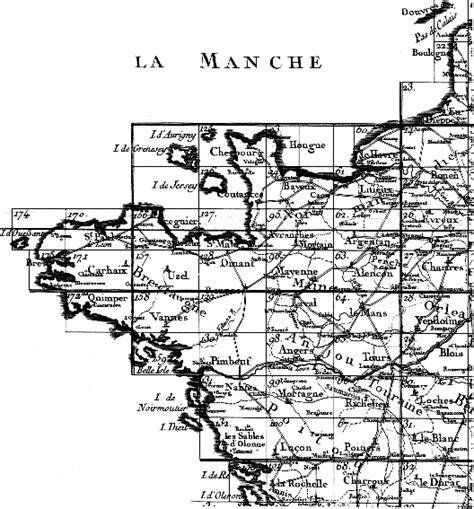 Carte Quart Nord Ouest by Cassini Quart Nord Ouest