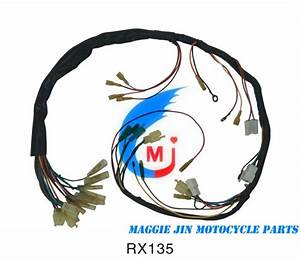 China Motorcycle Parts Wire Harness For Rx135
