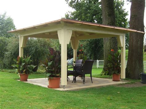 Garten Pavillon by Zimmerei Haderer Ohg Gartenpavillons