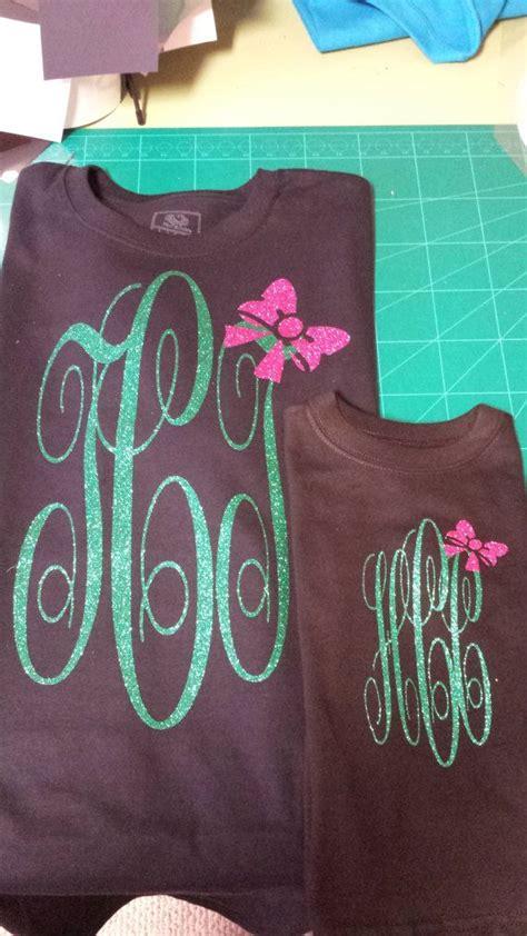 custom matching glitter monogram shirts  etsy  monogram shirts glitter monogrammed