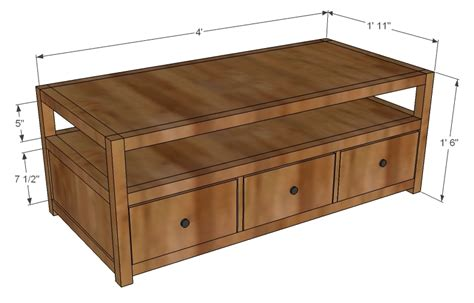 Coffee Table Woodworking Plans-woodshop Plans