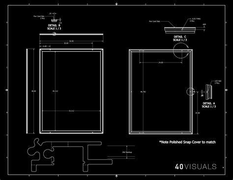light box drawing thin led panel light boxes 40 visuals