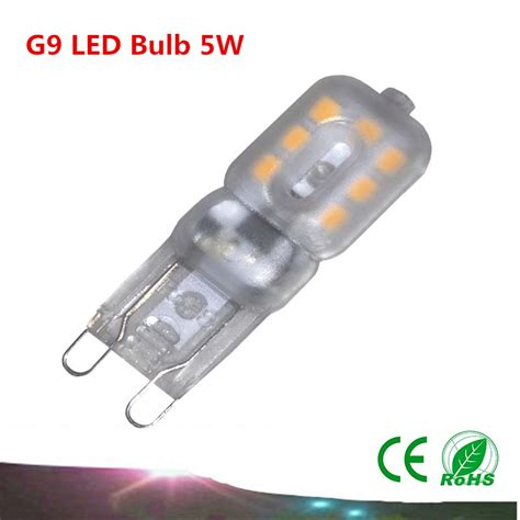 aliexpress buy 1pcs g9 led bulb 5w smd2835 ac220v