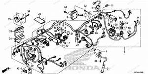 Honda Atv 2015 Oem Parts Diagram For Wire Harness