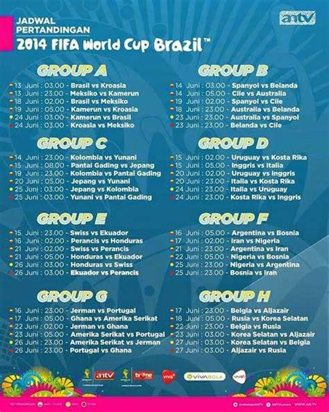 Jadwal Siaran Langsung Antv Tvone Piala Dunia 2014 Kata