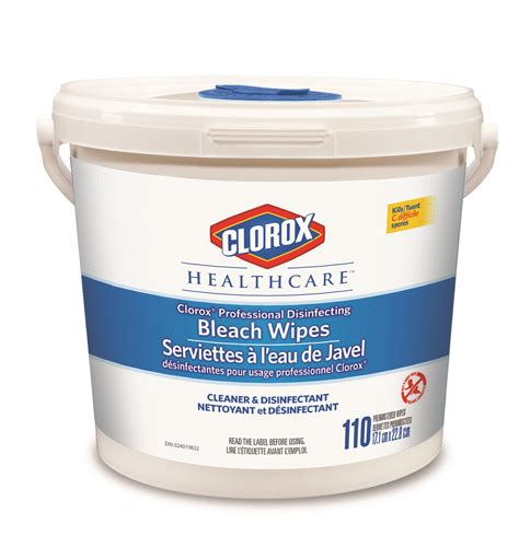 Clorox® Healthcare™ Professional Disinfecting Bleach Wipes