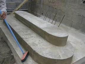Escalier Beton Exterieur En Kit by Construire Un Escalier En B 233 Ton Youtube