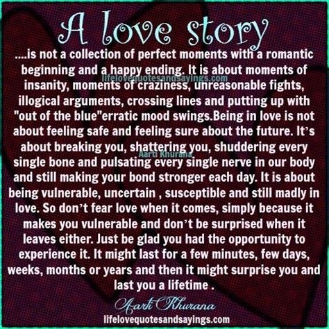 Love Story Quotes Quotesgram