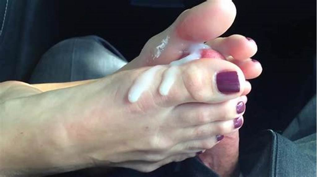 #Cum #On #Feet #& #Toes #Compilation #W