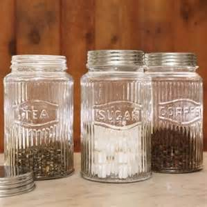 glass canisters kitchen vintage pressed glass jars traditional kitchen canisters and jars by sundance catalog