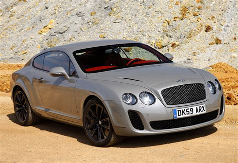 bentley continental supersports specifications