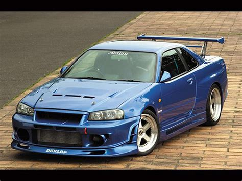 fast and furious 1 nissan skyline gtr r34 fast and furious 1 mobmasker