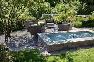 Terrassenmöbel Für Kleine Terrassen : pools und brunnen f r kleine g rten und terrassen blog ~ Markanthonyermac.com Haus und Dekorationen