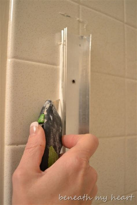 How To Uninstall A Shower - removing a sliding shower door my new year s