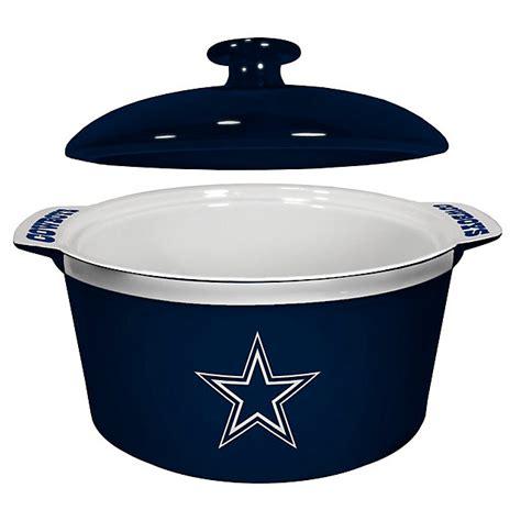 dallas cowboys kitchen accessories dallas cowboys gametime oven bowl kitchen home 6415