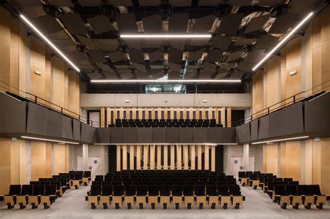 small church floor plans gallery of auditorium of bondy radio choral