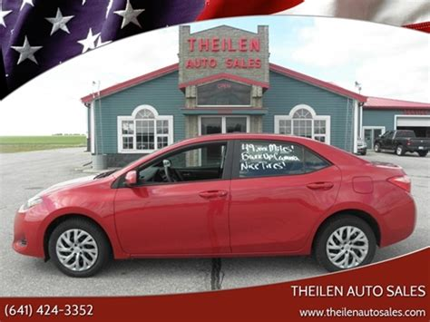 Toyota Clear Lake by Toyota For Sale In Clear Lake Ia Theilen Auto Sales