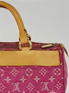 louis vuitton pink denim monogram denim neo speedy bag