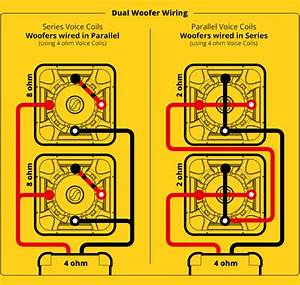 Subwoofer  Speaker  U0026 Amp Wiring Diagrams