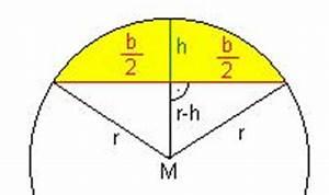 Radius Eines Zylinders Berechnen : zahlreich mathematik hausaufgabenhilfe radiusberechnung f r einen stichbogen kreisabschnitt ~ Themetempest.com Abrechnung