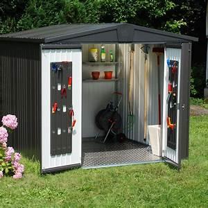 abri de jardin en metal europa t5biohort 652 m2 ep 53 With abri de jardin leroy merlin metal